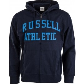 Russell Athletic TRANSFER PRINT HOODY FULL ZIP