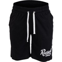Russell Athletic JERSEY SHORT WITH GRAPHIC PRINT - Spodenki męskie