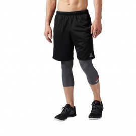 Reebok WORKOUT READY KNIT SHORT - Spodenki treningowe męskie