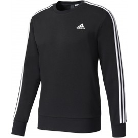 adidas ESSENTIALS 3 STRIPES CREW FRENCH TERRY