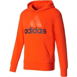 adidas ESSENTIALS LINEAR PULLOVER HOOD FRENCH TERRY - Bluza z kapturem męska