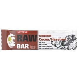 Nutrend RAW BAR 50G KAKAO+ORZECH
