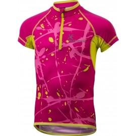 Klimatex HAJO - Koszulka rowerowa z nadrukiem sublimacyjnym dziecięca
