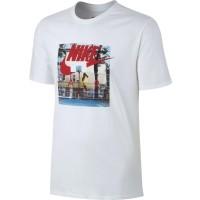 Nike M NSW TEE AIR HYBRID PHOTO - Koszulka męska