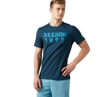 Reebok TAPE TEE - Koszulka męska