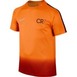 Nike CR7 Y NK DRY SQD TOP SS - Koszulka piłkarska chłopięca