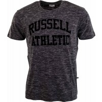 Russell Athletic CREW NECK TEE WITH FLOCKED