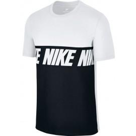 Nike NSW TEE AV15 BLK REPEAT