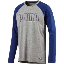 Puma STYLE ATHLETIC LS TEE - Koszulka męska