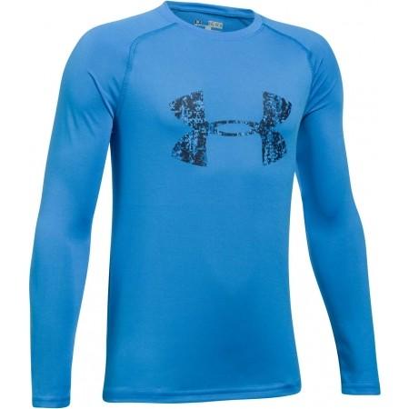 Koszulka chłopięca - Under Armour BIG LOGO LS TEE - 1
