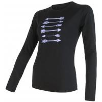 Sensor MERINO PT W - Koszulka termoaktywna damska
