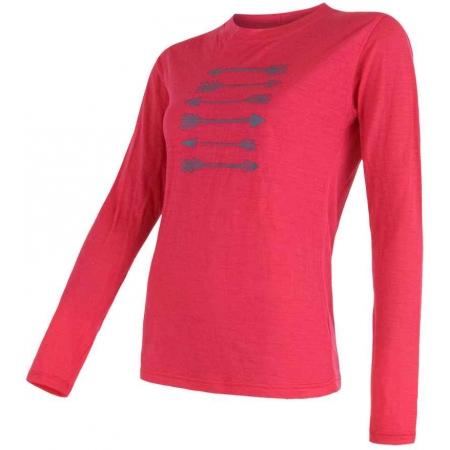 Koszulka termoaktywna damska - Sensor MERINO PT