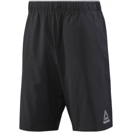 Reebok WORKOUT READY WOVEN GRAPHIC SHORT - Spodenki męskie