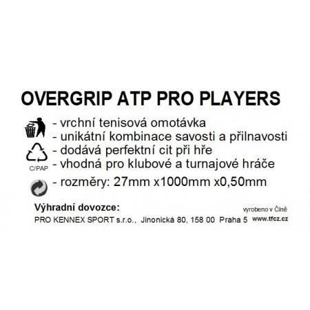 WRAP ATP PLAYERS – Owijka tenisowa - TECNIFIBRE WRAP ATP PLAYERS - 2