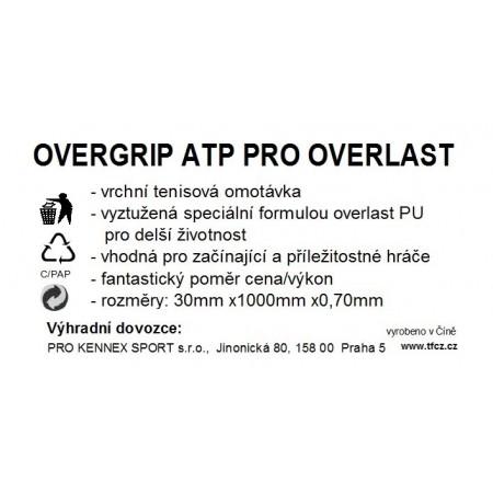 WRAP ATP OVERLAST – Owijka tenisowa - TECNIFIBRE WRAP ATP OVERLAST - 2