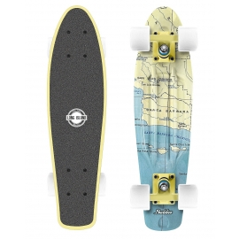 Long Island CALIFORNIA22 - Plastikowy mini longboard