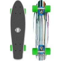 Long Island PAINTER22 - Plastikowy mini longboard