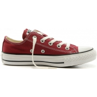 Converse CHUCK TAYLOR ALL STAR Low Top Maroon - Trampki męskie