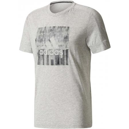 Koszulka męska - adidas ID FLASH TEE - 1