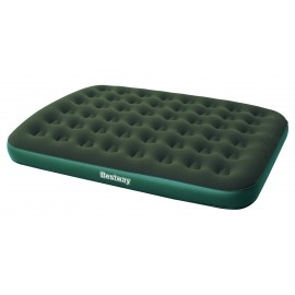 Bestway FLOCKED AIR BED GN - Materac dmuchany