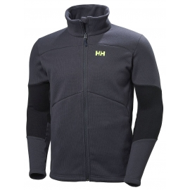 Helly Hansen EQ BLACK MIDLAYER JACKET - Sweter męski