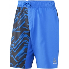 Reebok WORKOUT READY GRAPHIC BOARD SHORT - Spodenki męskie