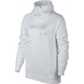 Nike W NSW RALLY HOODIE METALIC - Bluza damska
