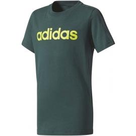 adidas LINEAR TEE - Koszulka chłopięca