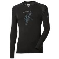 Progress E NDR BAMBUS BLACK - Koszulka termoaktywna męska