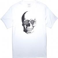Converse VAN DE WALL SKULL TEE - Koszulka męska