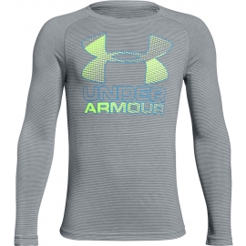 Under Armour HYBRID BIG LOGO LS TEE