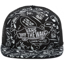 Vans CLASSIC PATCH TRUCKER PLUS SNOOPY (PEANUTS)