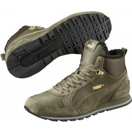 Puma ST RUNNER MID FUR ST - Zimowe obuwie miejskie męskie