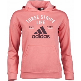 adidas KIDS HOODY GRAPHIC ROSE