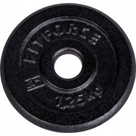 Fitforce OBCIAZENIE 1,25 KG CZARNY - Obciążenie