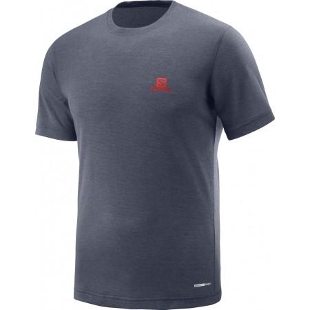 Koszulka męska - Salomon EXPLORE SS TEE M - 1