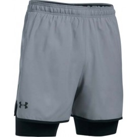 Under Armour QUALIFIER 2-IN-1 SHORT - Szorty treningowe męskie