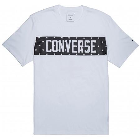 Koszulka męska - Converse STAR BLOCK TEE