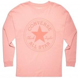Converse CORE CP LONG SLEEVE TEE - Koszulka damska z długim rękawem