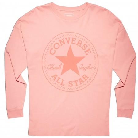 Koszulka damska z długim rękawem - Converse CORE CP LONG SLEEVE TEE