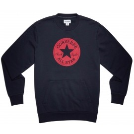 Converse CHUCK PATCH GRAPHIC CREW - Bluza męska