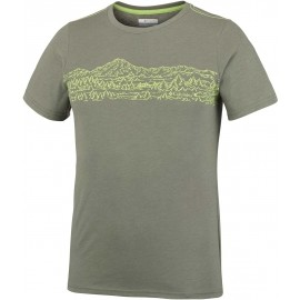 Columbia HILLVALLEY FOREST SHORT SLEEVE TEE - Koszulka męska