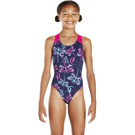 Strój kąpielowy dziewczęcy - Speedo FLASHFLY ALLOVER SPLASHBACK - 2