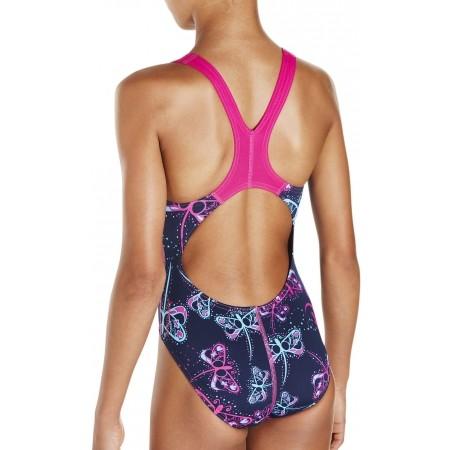 Strój kąpielowy dziewczęcy - Speedo FLASHFLY ALLOVER SPLASHBACK - 4