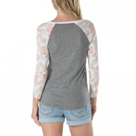 Koszulka damska z długim rękawem - Vans POPPY DREAM RAGLAN - 2