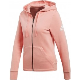 adidas ESSENTIALS SOLID FULLZIP HOODIE - Bluza damska