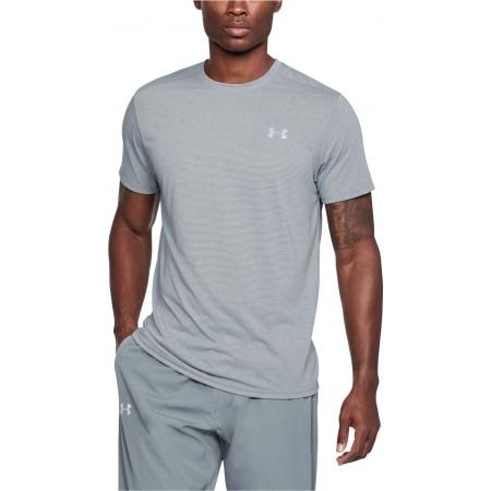 Koszulka termoaktywna męska - Under Armour THREADBORNE STREAKER SS - 4