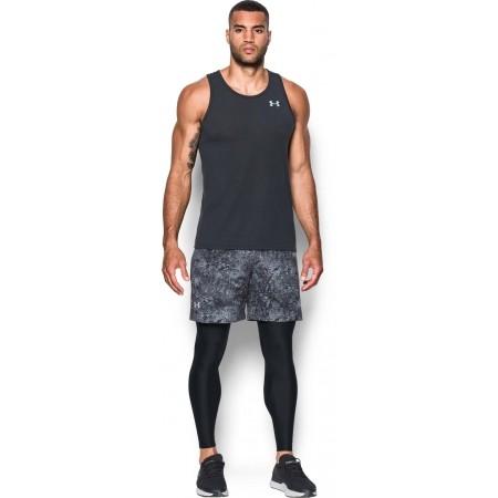 Kompresyjne legginsy do biegania męskie - Under Armour RUN TRUE HEATGEAR TIGHT - 3