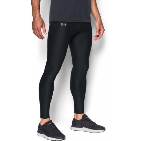 Kompresyjne legginsy do biegania męskie - Under Armour RUN TRUE HEATGEAR TIGHT - 5