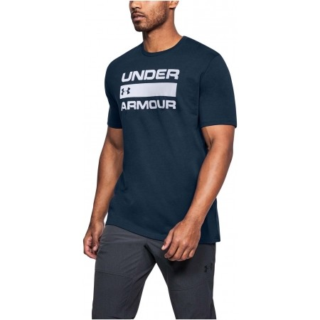Koszulka męska - Under Armour TEAM ISSUE WORDMARK - 4